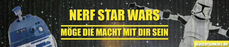 Hasbros Blaster für StarWars-Fans und Jedi-Ritter.