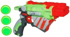 Die Proton in grün/orange hat ordentlich Power für einen kleinen Blaster.