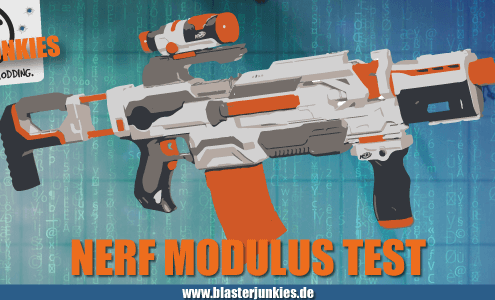 Nerf N-Strike Elite XD Modulus Blaster Review.