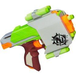 Die Sidestrike-Pistole gegen Zombies.
