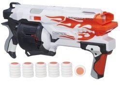 Die Revonix 360 aus der Vortex-Serie in orange und weiß.