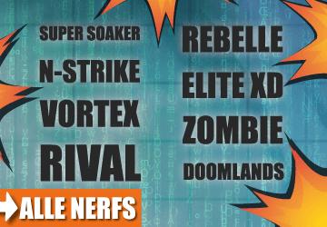 Welcher Blaster gefällt dir am besten? Hier findest du alle Nerf Guns im Vergleich.