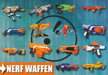 Alle Waffen auf einem Bild.