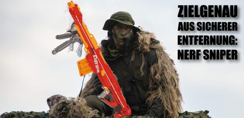 Die besten Nerf Snipergewehre.
