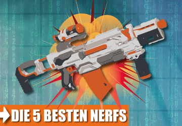 Die 5 besten Nerfs im Test.