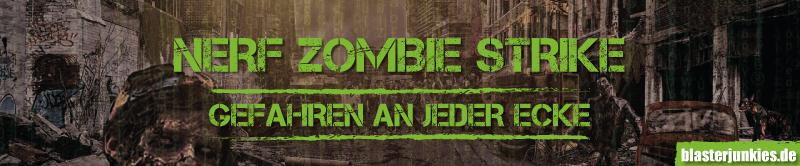 Die neuen Blaster mit denen du dich gegen Zombies wehren kannst.