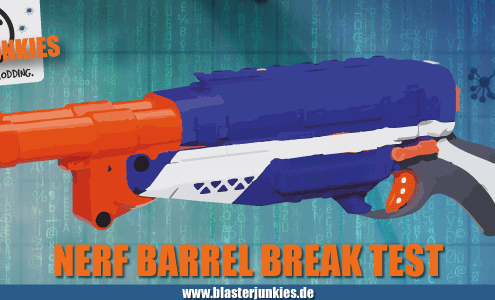 N-Strike Elite Barrel Break Review.
