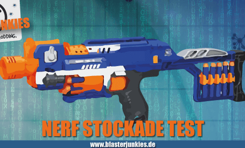 N-Strike Elite Stockade XD Review.