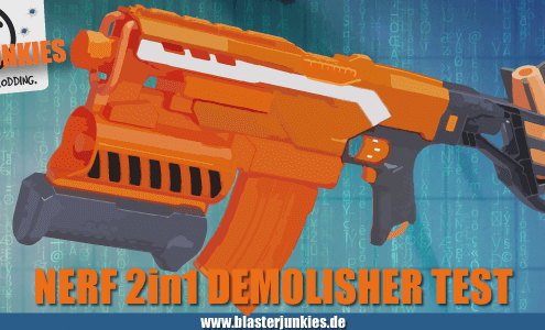 Nerf Demolisher Review.