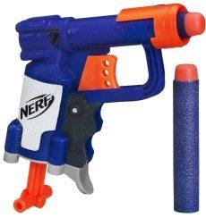 Von den kompakten Pistolen ist die Nerf Jolt nur eine.