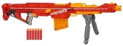 Die Nerf Mega Centurion Sonic Ice ist eine der coolsten Sniper Gewehre.