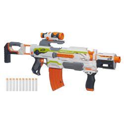 Der Modulus Blaster ist ein sehr flexibles Nerf Gewehr.