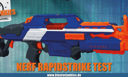 Nerf N-Strike Elite Rapidstrike Review.
