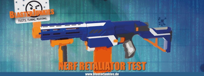 Nerf N-Strike Elite Retaliator Review.