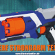 Nerf N-Strike Elite Strongarm Test.