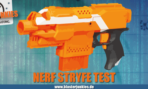 Nerf N-Strike Elite Stryfe Review.