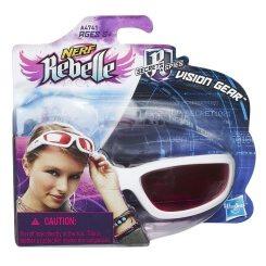 Auch eine Nerf-Rebelle-Schutzbrille gibt es, damit die Mädels nicht zu kurz kommen.