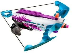 Die Nerf Rebelle Star Shot ist besonders hübsch designed.