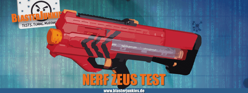 Nerf Rival Zeus MXV-1200 Review.