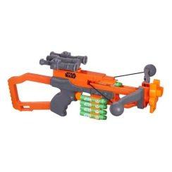 Der Nerf Star Wars Chewbacca Bowcaster ist eine sehr stylische Gun.