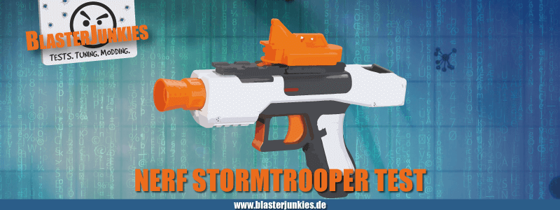 Das Nerf Star Wars Stormtrooper Blaster Review.
