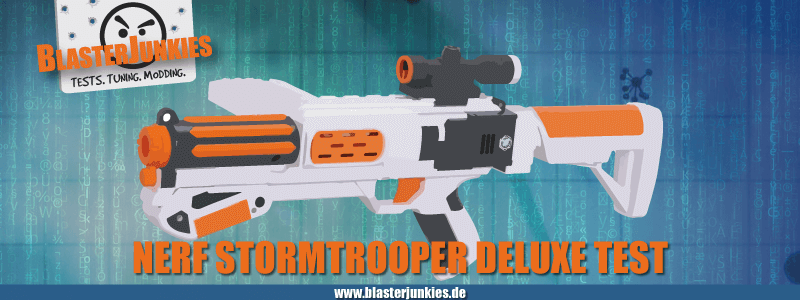 Das Nerf Star Wars Stromtrooper Deluxe Blaster-Review.