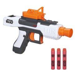 Der Nerf Stormtrooper Blaster ist eine tolle kompakte Pistole im Test.