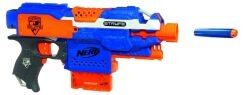Die Nerf Stryfe ist eine der besten handlichen Pistolen unter den Blastern.