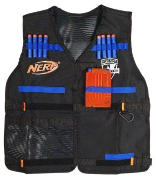 Nerf N Strike Elite Zubehör vom feinsten: Die Tactical Vest.