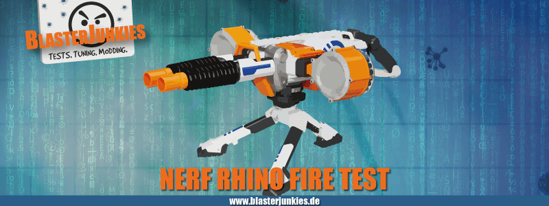 Rhino Fire Test.