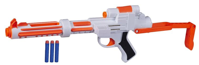 Eine der coolsten Star Wars Nerf Gun ist die Rebels - sie ist beeindruckende 60cm lang.