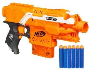 Die Stryfe ist eine semiautomatische Pistole.