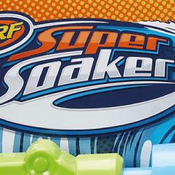 Die Super Soaker Modelle toppen alles im Sommer.