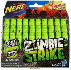 Wer Nerf Zubehör kaufen will, der kann auch Darts für seine Zombie-Strike kaufen.